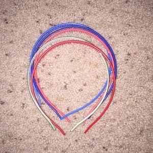 set of 5 headbands